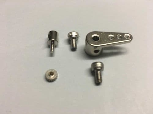 DF65/95 Aluminum rudder arm set