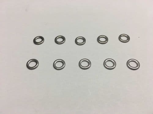 DF65/95 Metal bridle sheets/rig rings (10 pk)