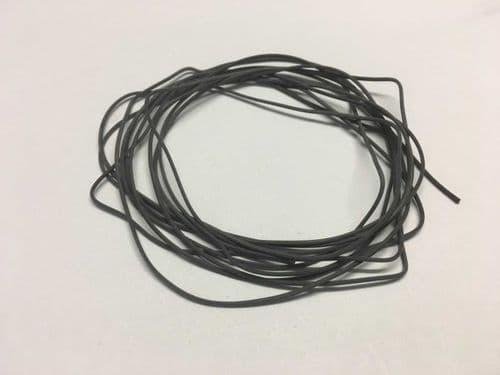 DF65/95 Sheeting elastic black (2m)