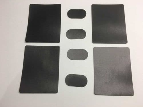 DF65 Deck & battery patches (4x4 pk)