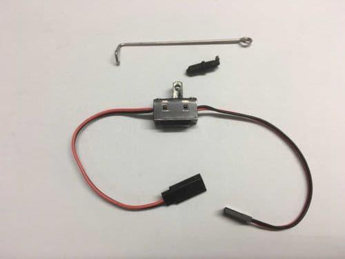 DF65 Switch rod, cap & switch set
