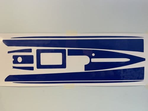 DF65 V6 Hull/deck decals - choice of colour