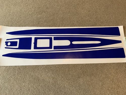DF95 Hull/deck decals - choice of colour