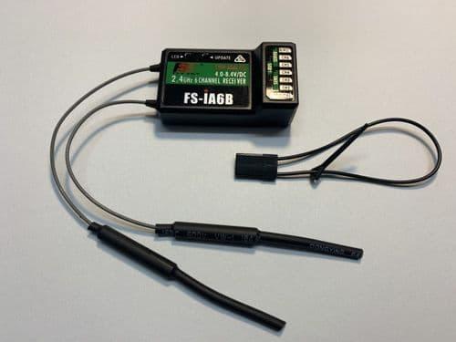 FlySky 2.4 Ghz FS-iA6B receiver