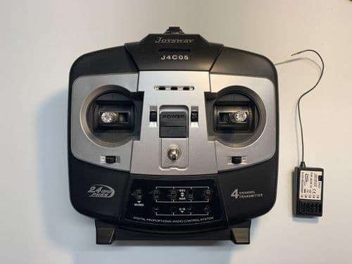 Joysway J4C05 2.4 gHz radio system