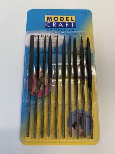 Tools - 10 Needle File Set