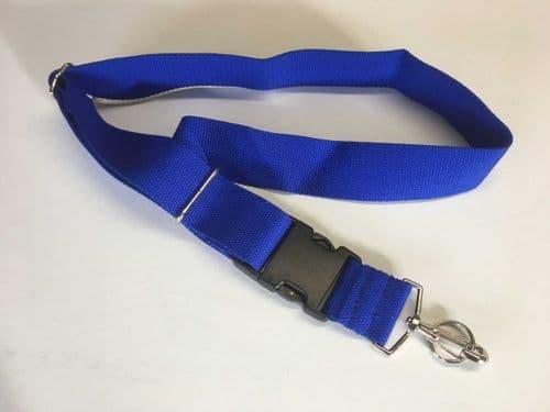 Transmitter neck strap - Blue