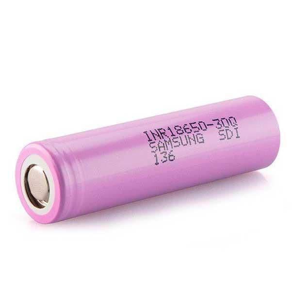 30Q 18650 3000mAh 20A Battery Cell