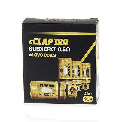 Atom -  OVC Gold Clapton 0.5Ω Coils 4 Pack - for Kanger Sub Tank OCC