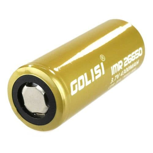Golisi - 26650 35A 4300 mAh Battery Cell