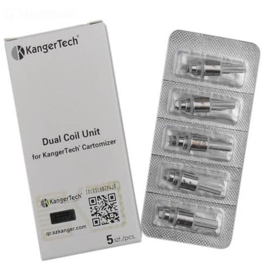 Kangertech -  Dual Coil Unit - Aero/Geni/Mini/Pro Tank 3