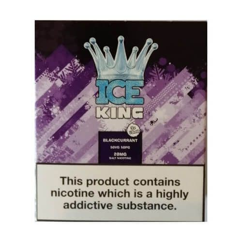 King Of Vapes - Ice King Blackcurrant 10ml