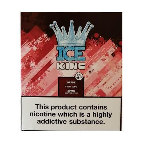 King Of Vapes - Ice King Grape 10ml