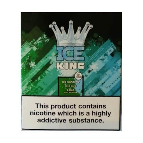 King Of Vapes - Ice King Ice Menthol 10ml
