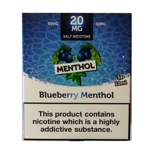 King Of Vapes - Menthol Blueberry 10ml