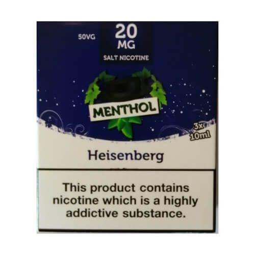 King Of Vapes - Menthol Heisenberg 10ml
