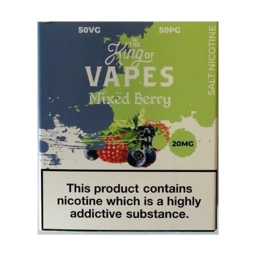 King Of Vapes - Mixed Berry Nic Salt 10ml