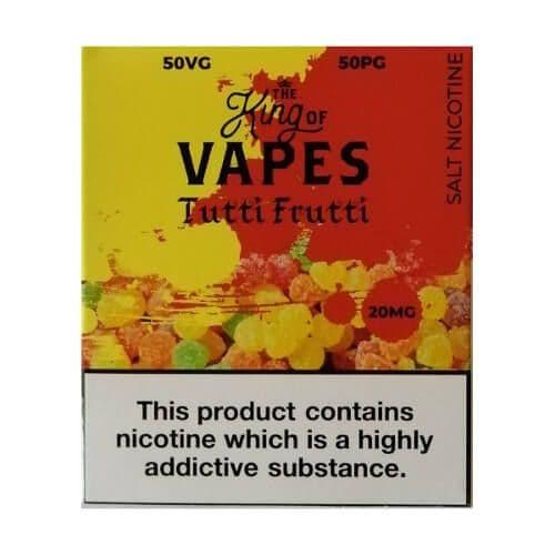 King Of Vapes - Tutti Frutti Nic Salt 10ml