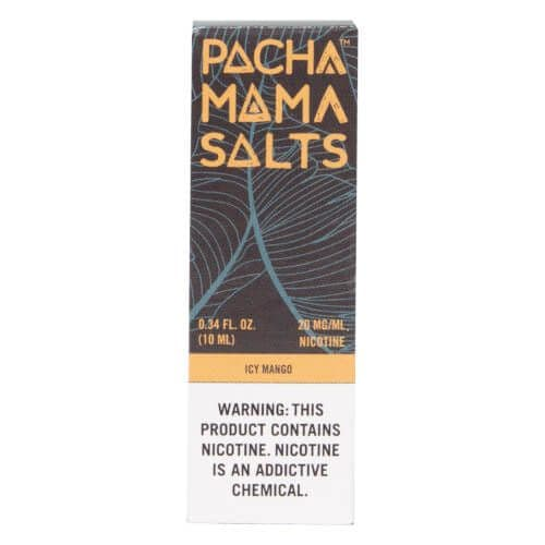 Pacha Mama Salts - Icy Mango 10ml