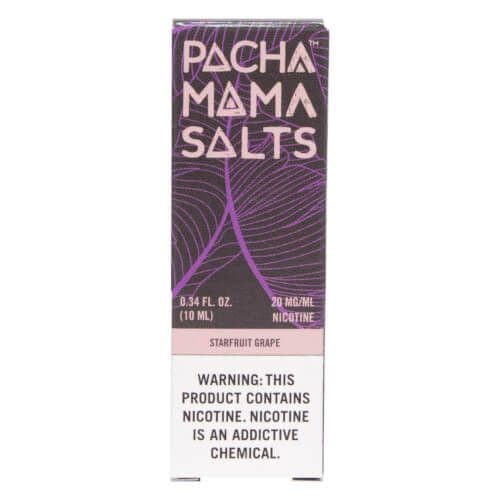 Pacha Mama Salts - Starfruit Grape 10ml