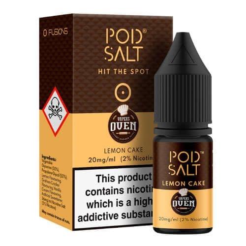 Pod Salt - Lemon Cake 10ml