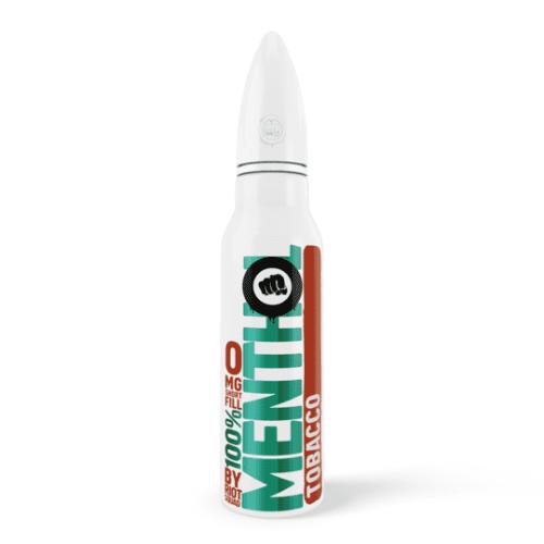 Riot Squad - 100% Menthol - Tobacco 50ml