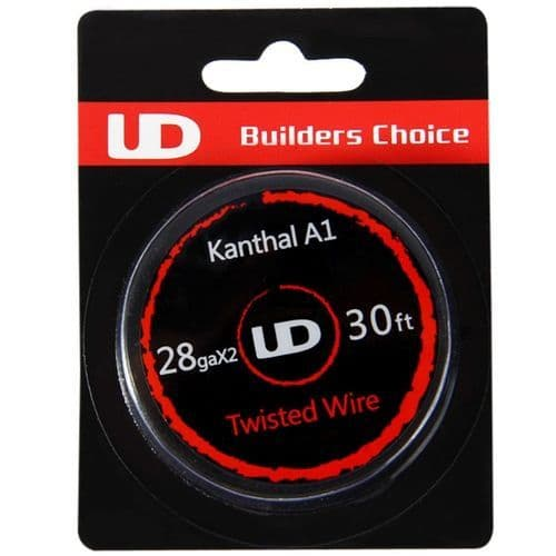 UD Builders Choice - Twisted Kanthal Wire 30ft 28ga x 2   Our Ref: UD-W#4