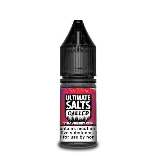 Ultimate Salts - Chilled Strawberry Pom 10ml