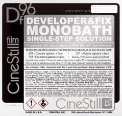 Cinestill DF96 Monobath powder