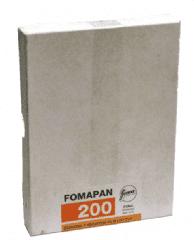 Fomapan 200 5x4 (50)