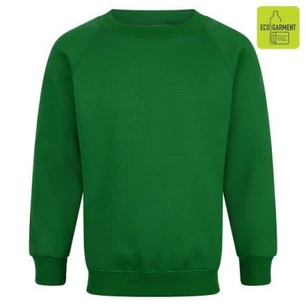 Ysgol Brynrefail Sweatshirt in Green