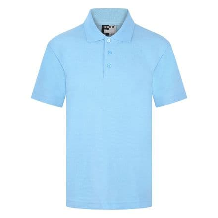 Ysgol Llandegfan Polo shirt in Sky blue