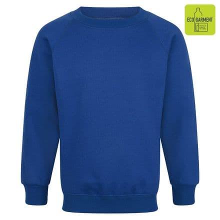 Ysgol Llangoed Sweatshirt in royal blue