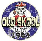 Distressed Aged OLD SKOOL SINCE 1963 Mod Target Dated Design Vinyl Car sticker decal  80x80mm