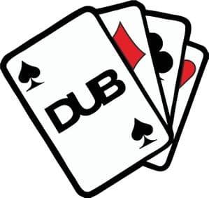 DUB ACE CARDS CLUB Funny Rat Look Euro Style Vinyl Car Sticker Decal 110x105mm