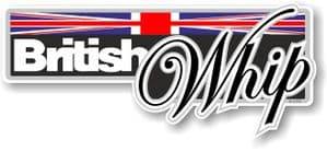 Funny BRITISH WHIP Slogan With Union Jack Flag Novelty Bumper Sticker Design Vinyl Car Sticker Decal 160x70mm