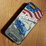 KOOLART AMERICAN MUSCLE CAR DODGE VIPER Hard Case Cover For Apple iPhone 4 & 4s