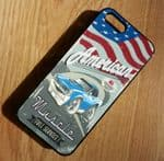 KOOLART AMERICAN MUSCLE CAR RETRO PONTIAC GTO Hard Case For Apple iPhone 5 & 5s