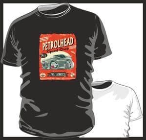 KOOLART PETROLHEAD SPEED SHOP Design For Retro Nissan Skyline R32 mens or ladyfit t-shirt