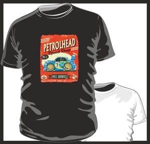 KOOLART PETROLHEAD SPEED SHOP Design For Subaru Impreza WRX STi Scooby mens or ladyfit t-shirt