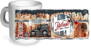 Koolart Rusty Ratlook Design For MK3 Escort Van - Ceramic Workshop Tea Or Coffee Mug