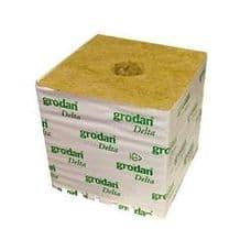"Grodan Delta 6"" Rockwool Cube / Hugo block"