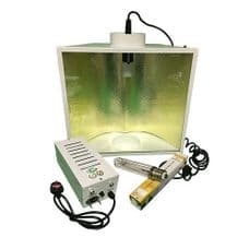 Pro Gear ( Horti Gear ) 600W With Aerowing Reflector and Sun Lux Pro Dual Spectrum HPS Lamp