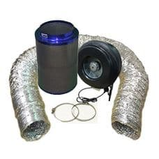 """Viper Carbon Filter 12"""" / 315 x 600mm / 12"""" Hurricane ( 2300m3/h ) Extraction Kit"""