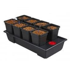 Wilma Wide Small 8 Pot ( 11 Litres ) Complete Dripper System ( NEW STYLE )