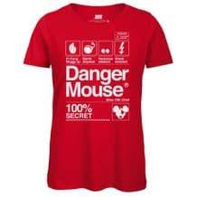 Danger Mouse® 100% Secret Ladies T-Shirt