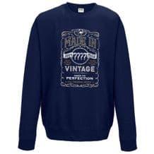 Made In Custom Year Sweatshirt
