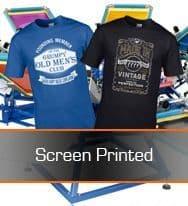 Screen Printed