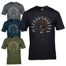 Speedometer 1945 75th Birthday T-Shirt - Funny Feels Age Year Present Mens Gift