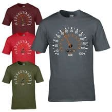 Speedometer 1965 55th Birthday T-Shirt - Funny Feels Age Year Present Mens Gift